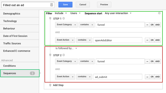 Web analytics for SaaS through Google Analytics